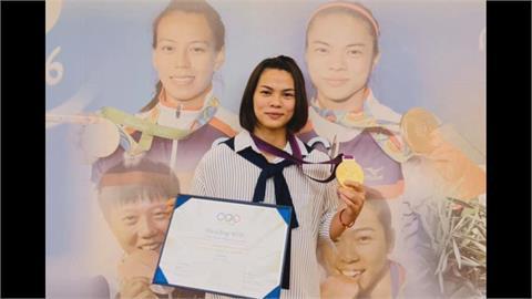 低調獲頒敦奧金牌 許淑淨創我國首位奧運雙金
