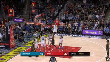 NBA/林書豪替補得13分 老鷹120比129不敵黃蜂吞2連敗