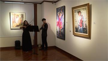 畫家林莉芸高雄個展 細膩描繪「舞之人生」
