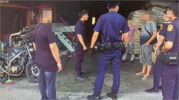 討債嗆警「我統促黨幹部」 竹聯幫溫男拘提到案