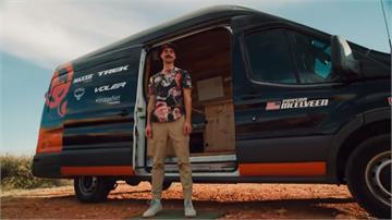 一窺極限運動員的露營車 巧思實用具個人特色