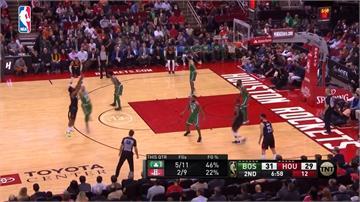 NBA/哈登聯手忍者龜合飆78分 火箭中止塞爾提克七連勝