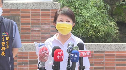 盧秀燕:媒體納優先施打對象 呼籲中央彈性防疫