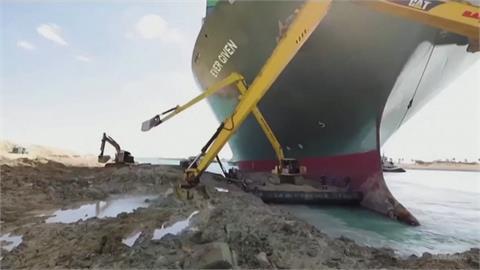 長賜輪卡運河恐賠10億美元 沒談妥船隻不准走