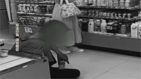 女子超商買飲料 「攝狼」偷拍上衣空隙遭活逮