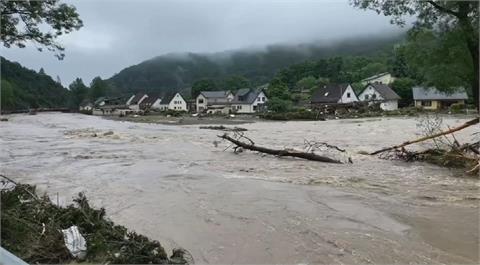 德國.比利時暴雨引發河水氾濫 逾20人喪命多人失蹤