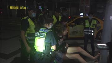男酒駕拒測女友人「參一腳」  長腿抵電線桿罵警遭壓制