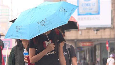 快新聞/出門記得帶傘!  竹、苗以南9縣市大雨特報  嚴防雷擊強陣風