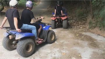 違法!墾丁沙灘車飆山 不慎翻覆2遊客受傷