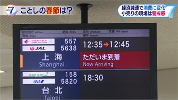 中國客遊日本 總人數增加 購買力下降