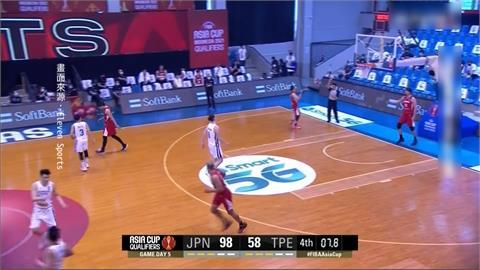 籃球/亞洲盃第二戰碰強敵 台灣61:98不敵日本