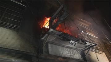 台中東海商圈氣爆4死!「火球衝對巷燃燒」老房東成焦屍