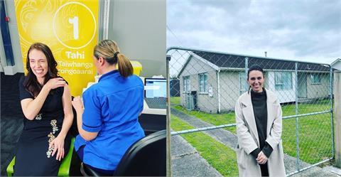 快新聞/第2劑疫苗覆蓋率將近7成 紐西蘭總理:達90%將解封
