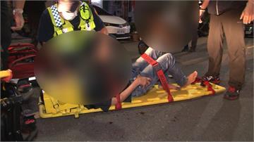 酒後起口角 高雄4男女街頭鬥毆濺血