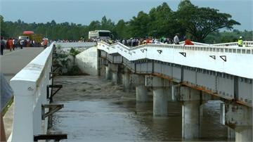 緬甸水壩潰堤2失蹤 逾6萬人無家可歸