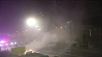 女友人遭調戲爆街頭火拼 開槍燒車砍人 2傷