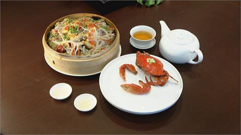 螃蟹結合網油.奶油 廣東菜古早味搬上台灣餐桌