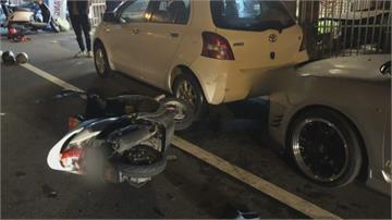 貪吃「全酒薑母鴨」惹禍騎車失神追撞2車4人傷