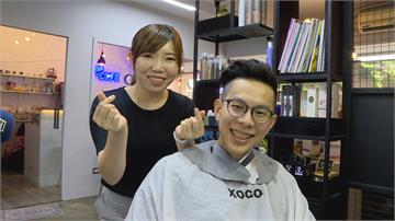 驚喜還是驚嚇?張維倩準備父親節禮物 買「剃刀」替孩子爸做造型