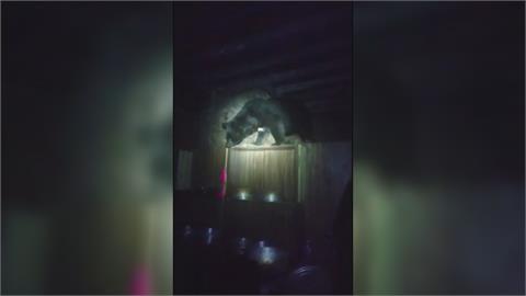 「向陽山屋」又見黑熊! 林管處籲山友勿留廚餘