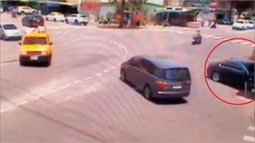 駕駛開車開到睡著 直撞超商玻璃全碎
