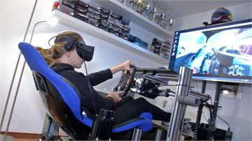 居家VR特訓維持手感!F3美女車手新奇體驗