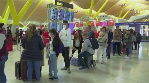 美國疫情陡升 歐盟建議成員國禁美非必要航班