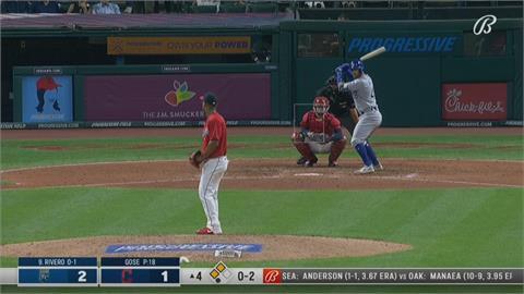 MLB/大谷翔平望塵莫及!皇家培瑞茲「第46轟」創捕手紀錄