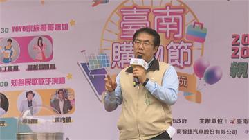 台南購物節 民眾「聞香下馬」 攤商前大排長龍