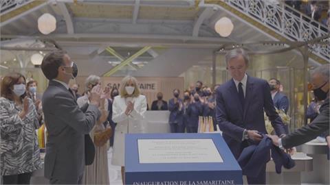 歷時16年整修 法國150年歷史莎瑪利丹百貨重新開幕