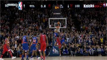 NBA倫敦賽戲劇化結局 巫師靠尼克妨礙中籃險勝