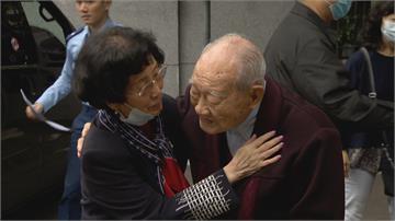 約好一期一會!空軍建軍百年 百歲飛官與同袍遺孀敘舊