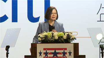 美國商會謝年飯 蔡英文:台美繼續合作提升共同利益