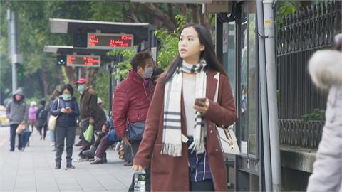 快新聞/冷空氣來襲驟降10℃ ! 北台灣濕冷「越晚越凍」探13度 週二回暖