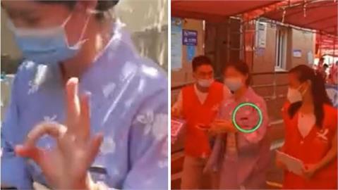辱華?廈門女「穿和服」做PCR遭拒 小粉紅:打中國疫苗穿中國衣服