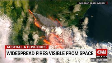 澳洲野火釀18死、49火場失控!火龍捲增救援難度