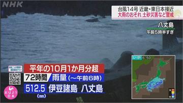 「昌鴻」大迴轉擦邊日本 挾狂風暴雨引爆土石流