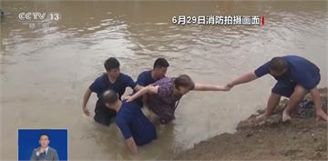 撥水式暴雨襲擊 江蘇上海也拉警報