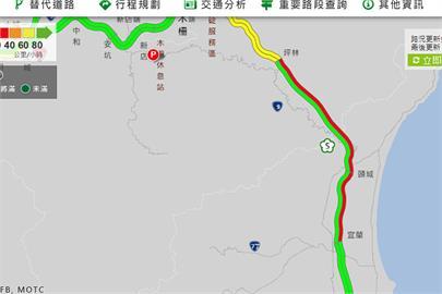 快新聞/塞爆! 清明連假第3天 國5宜蘭到坪林車速不到40公里