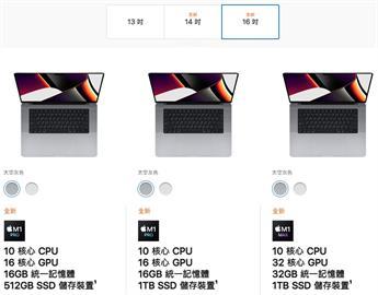 最新MacBook Pro售價、規格公布!「頂配版20萬」一張圖看新舊機差異