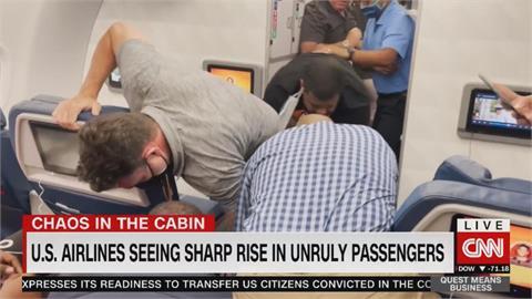 疫情壓力大 美旅客鬧機事件層出不窮