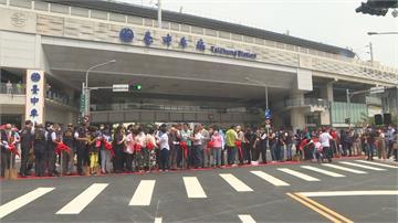台中人等13年的大智路開了!貫通台中火車站前後要道