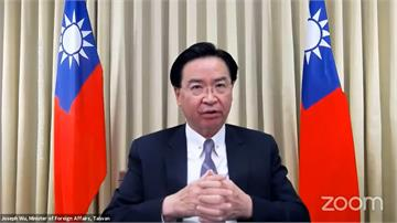華府智庫研討會與歐美議員談抗中 吳釗燮:台灣會堅守民主