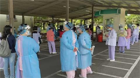 確診病患家屬確診 804醫院群聚已累計14人染疫