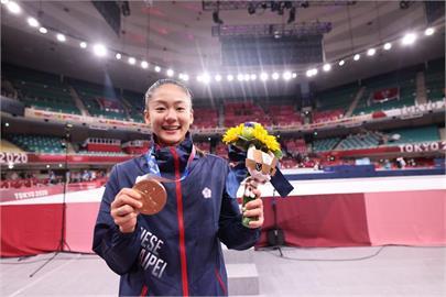 東奧/文姿云奪空手道銅牌 謝長廷:可能是台灣奧運史上唯一