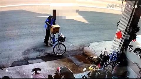 有這麼口渴? 竊賊搬走民宅前整箱可樂