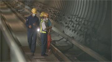 高捷R12隧道火警! 疑電纜破壞過熱冒火光