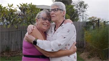 相擁而泣!簽證被拒4次 姊姊終飛澳洲探視病危妹