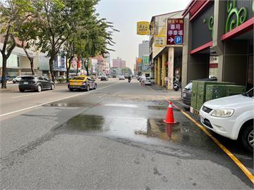 快新聞/台中即將供5停2水管還破裂!居民罵:本月第3次了