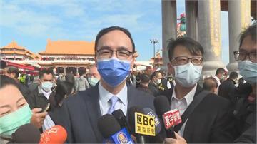 快新聞/深入敵營?赴台南參與宗教盛事 朱立倫:「支持我的比民進黨還多」